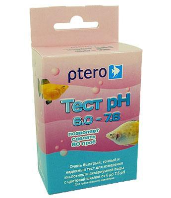 Ptero Тест pH 6.0-7.6 кислотность