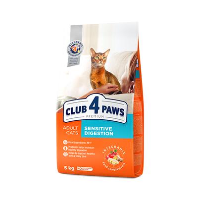 Клуб 4 лапы Premium сухой корм для котов, чувствительное пищеварение, 100 г (развес)