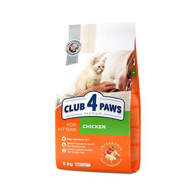 Клуб 4 лапы Premium сухой корм для котят, 100 г (развес)