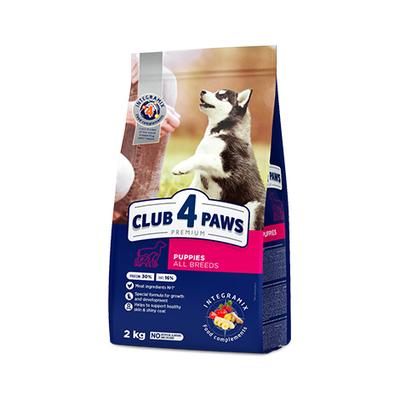 Клуб 4 лапы Premium сухой корм для щенков всех пород, курица 2 кг