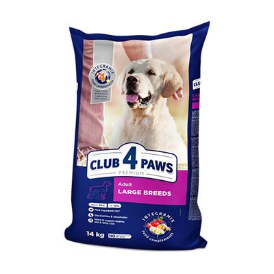 Клуб 4 лапы Premium сухой корм для собак крупных пород, развес 100 гр