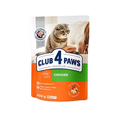 Клуб 4 лапы Premium сухой корм для котов, курица, 100 г (развес)