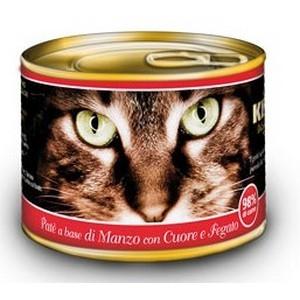 KIPPY - консерва для кошек, паштет, говядина, сердце и печень 200 гр