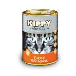 KIPPY - консерва для кошек, паштет, курица 400 гр