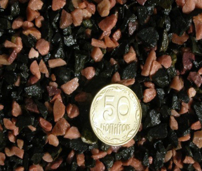 Кварцит розовый + базальт Aquarium Plus грунт для аквариума 2,5-5 мм 10 кг