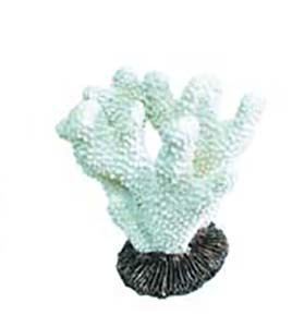 KW Zone Коралл белый - декорация для аквариума
