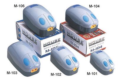 KW Zone Mouse M-104 - компрессор для аквариума до 130 л