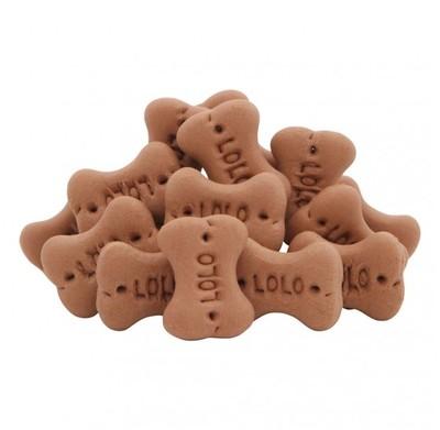 Lolopets лакомство для собак косточки шоладные S 210 г
