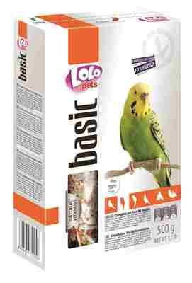Lolopets полнорационный корм для волнистых попугаев 500 гр