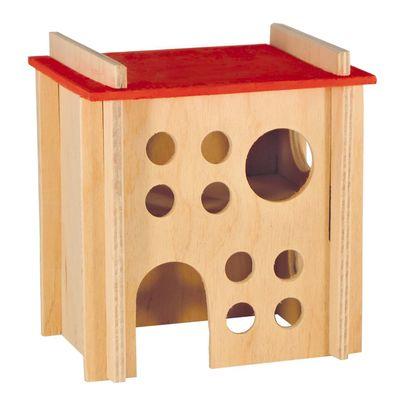 Лори дом деревянный двухэтажный для хомяков