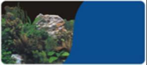 Minjiang №9071/9016 - фон для аквариума, камень с растениями/фиолетовый, высота 30 см