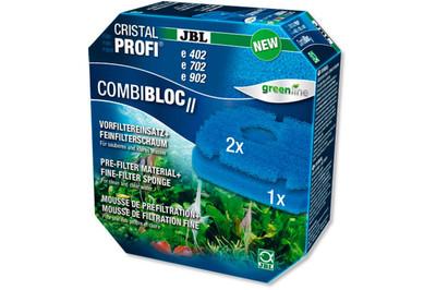 Набор губок JBL CombiBloc II для внешних фильтров CristalProfi E402/702/902