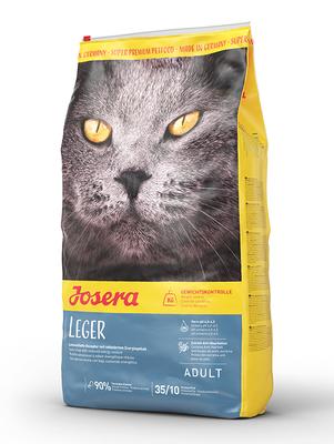 Josera Leger - супер премиум корм для стерилизованных кошек, склонных к полноте, 10 кг