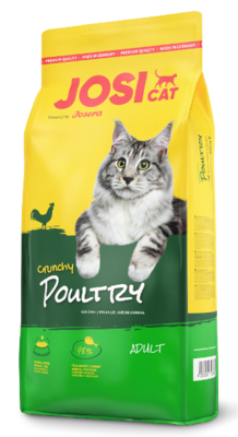 Josera JosiCat Crunchy Poultry корм для котов с птицей, 10 кг