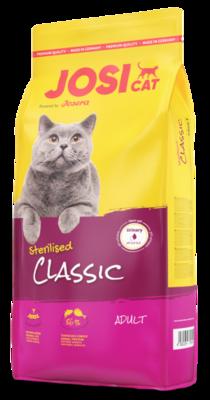 Josera JosiCat Sterilised Classic 100 г корм для стерилизованных кошек и кастрированных котов, развес