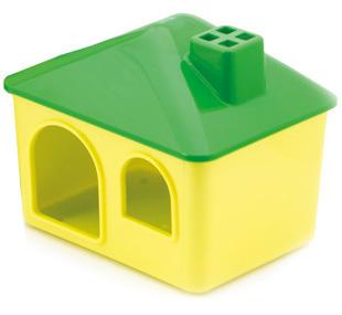 Природа дом для хомяка пластиковый