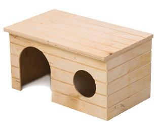 Природа домик для морской свинки Мрия, 25х15х13 см