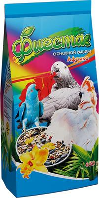 Природа Фиеста Африка - корм  для большого попугая 650 г