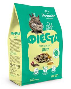 Природа Фиеста Дегу корм для дегу, 600 г