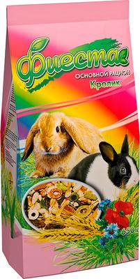 Природа Фиеста Кролик - корм для кроликов, 650 г