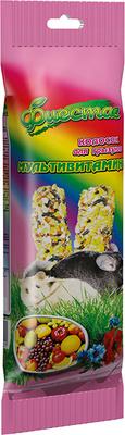 Природа Фиеста Мультивитамин - колосок для грызунов, 100г