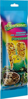 Природа Фиеста Орех - колосок для волнистых попугаев, 100г