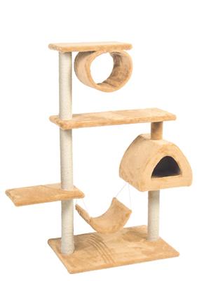 Природа Городок 2 - дряпка для котов, бежевая Акция
