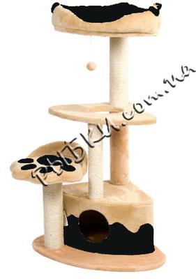 Природа Городок Угловой - когтеточка для кошек, бежевая