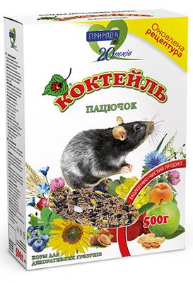 Природа Коктейль для грызунов Крыска, 500 г