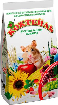 Природа Коктейль Хомячок - корм для хомяков, 500 г