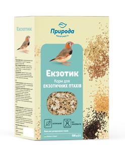 Природа корм для экзотических птиц Экзотик, 500г