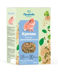 Природа корм для грызунов Кролик, 500 г