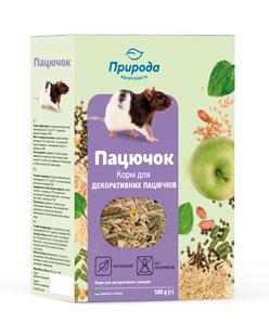 Природа корм для грызунов Крыска, 500 г