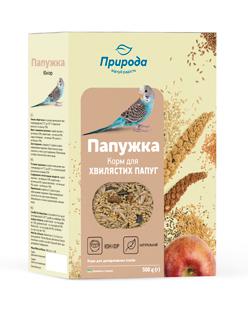 Природа корм для волнистых попугаев Папужка юниор, 500г