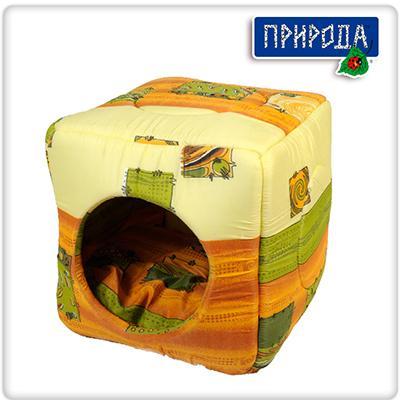 Природа Кубик - домик для кота