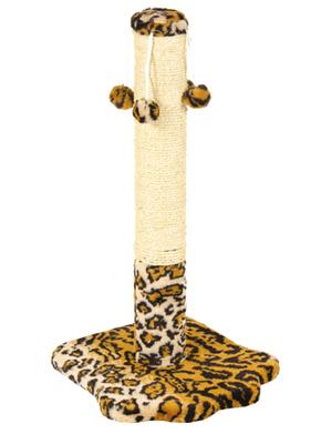 Природа Лапка с 4-мя бубенчиками - когтеточка для кошек, жаккард