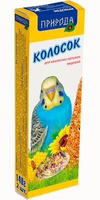 Природа Медовый колосок для попугаев, 140г