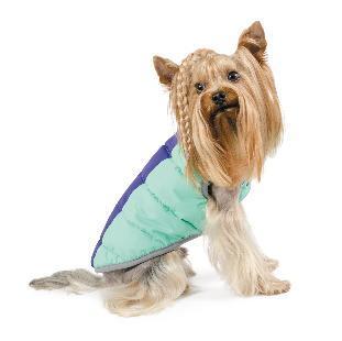 Природа Pet Fashion Микс жилет для собак, фиолетово-мятный, L