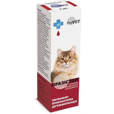 Природа Празистоп - средство от глистов у кошек и собак капли, 5 мл