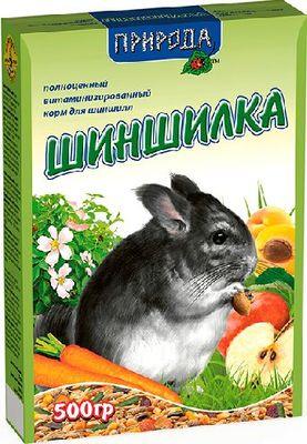 Природа Шиншилка - корм для шиншилл, 0,5 кг