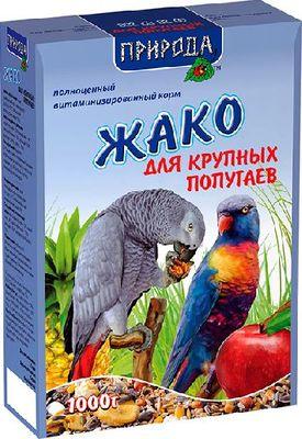 Природа Жако - корм для крупных попугаев, 1 кг