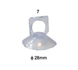 Присоска прозрачная для градусника,  A-007
