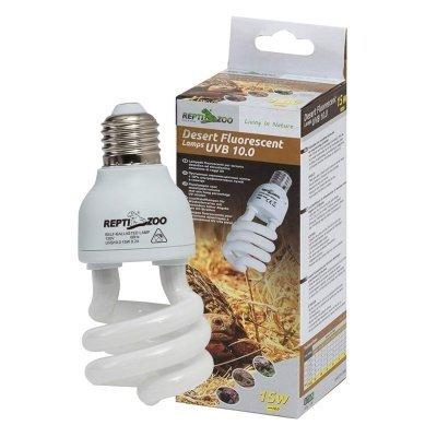Repti-Zoo Desert Lamp 10.0 UVB 15 Вт ультрафиолетовая лампа для пустынных животных
