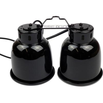 Repti-Zoo DRL02 2х40 Вт двойной светильник для ламп Е27