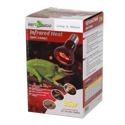 Repti-Zoo Infrared Heat 35 Вт инфракрасная нагревательная лампа для террариумов