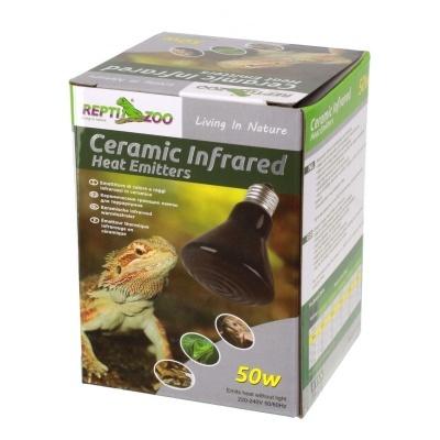 Repti-Zoo mini 50 Вт керамический обогреватель для террариумов