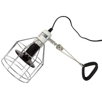 Repti-Zoo RL00 пружинный кронштейн с зажимом для керамического патрона