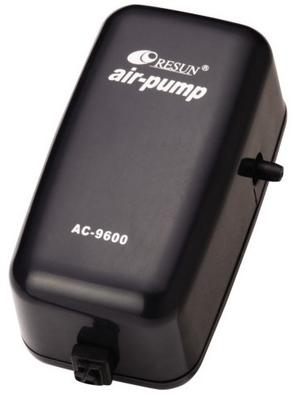 Resun AC-9600, компрессор для аквариума до 75 л