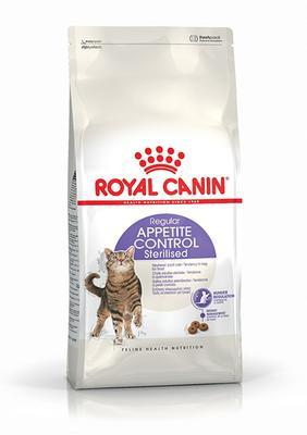 Royal Canin Sterilised Appetite Control - для стерилизованных кошек, выпрашивающих еду, 0,4 кг