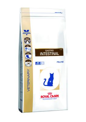 Royal Canin Gastro Intestinal - диета для кошек при нарушениях пищеварения, 0,4 кг